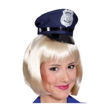 SALE Hut Mini Police Cap, blau