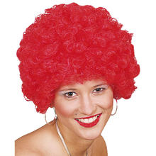 Afro-Per�cke Hair, kleine Locken, rot