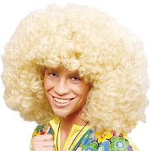 Perücke Super-Afro, blonde Locken