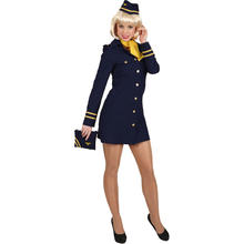 Flugbegleiterin Kostüm
