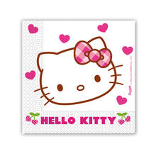 Servietten Hello Kitty, 33 cm, 20 Stk.