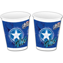SALE Becher Captain America, 200 ml, 8 St�ck