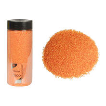SALE Dekosand orange, 500 ml