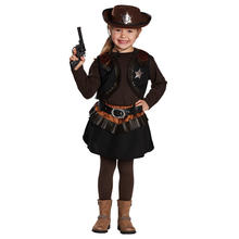 Kinder-Kostüm Little Cowgirl, Gr. 116