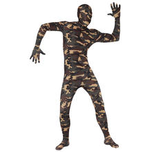 SALE Kostüm Second Skin Camouflage Suit, Gr. L