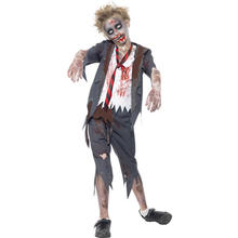 Kinder-Kostüm Zombie School-Boy, Gr. Teen