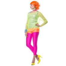 SALE Damen-Leggings Neonpink Gr. 38