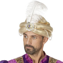 Hut Turban Luxus, gold