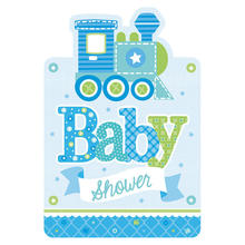 NEU Einladungskarten Welcome Little One Boy 8 Stk.