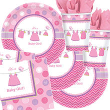 Party-Set-Kids für 16 Gäste Shower Baby Girl
