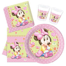 Party-Set Basic für 16 Gäste Baby-Minnie