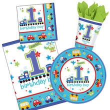 NEU Party-Set-Basic f�r 16 G�ste 1.Birthday-Boy