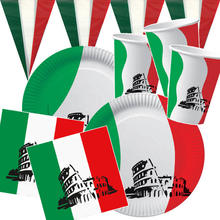 Party-Set-Basic für 10 Gäste Italien