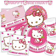 Party-Set-Premium für 16 Gäste Hello Kitty