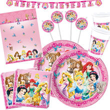 Party-Set-Premium für 8 Gäste Disney Princess