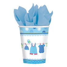 NEU Becher Shower Baby Boy, 267 ml, 8 Stk.