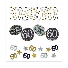 Konfetti Happy Birthday Sparkling 60, 34 g
