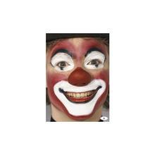 Clown gesicht mit latexnase erwachsenengesichter schmink partytipps produkte party - Clown schminken bilder ...