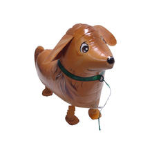 Folienballon Golden Retriever, Airwalker, 73 cm