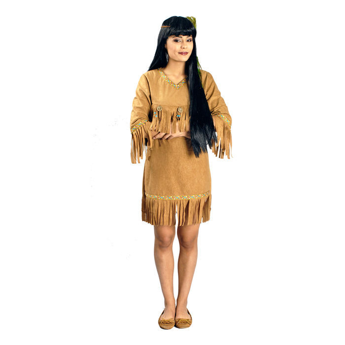 neu damen kost m indianerin adlerauge indianerkost m. Black Bedroom Furniture Sets. Home Design Ideas