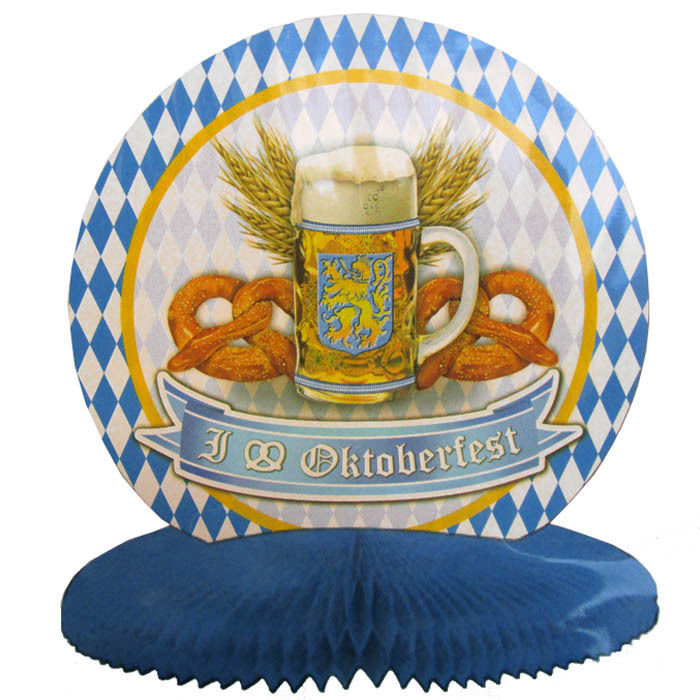 neu tisch deko oktoberfest ca 25 cm 1 stk bayern dekoration ebay. Black Bedroom Furniture Sets. Home Design Ideas
