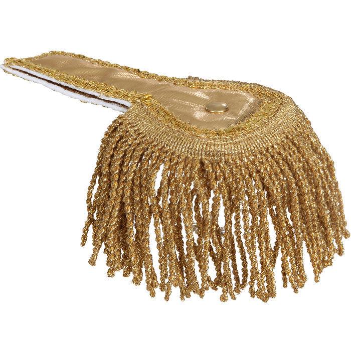 silber Epauletten Schulterklappen 2 Stück jeweils 17 cm