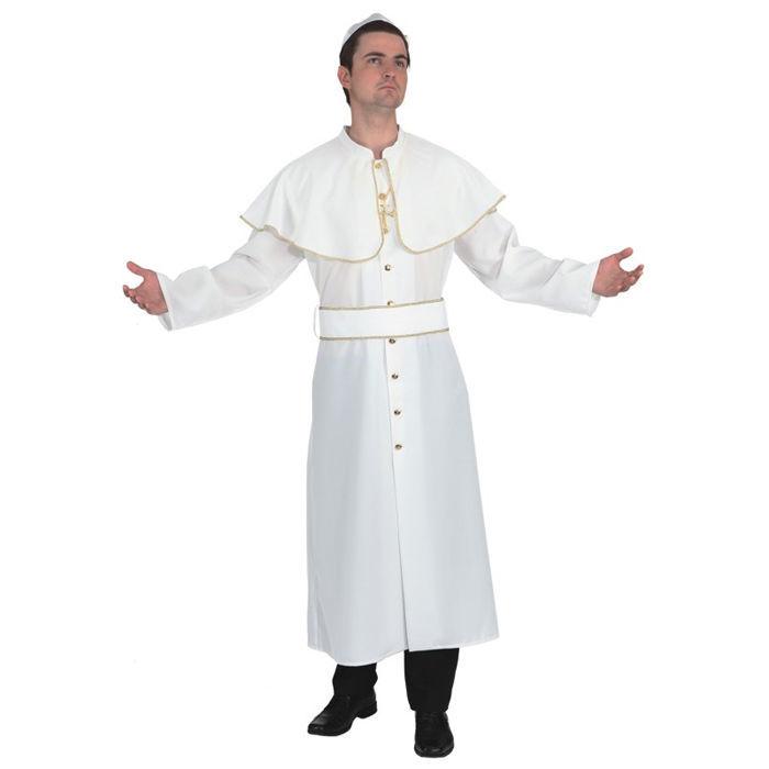 Herren-Kostüm Papst, weiß mit Goldborte Gewand Gewand Gewand Gewand Kardinal Papstkostüm   Louis, ausführlich  940cdf
