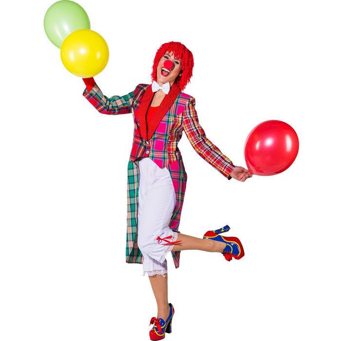 neu damen kost m patchwork frack clown clownkost m zirkus. Black Bedroom Furniture Sets. Home Design Ideas