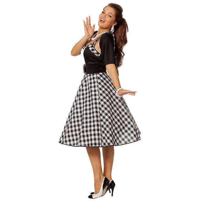 d4e8d08026f8ae Damen-Kostüm Rock'n'Roll Fifties Style Disco Elvis 50er Jahre Look ...