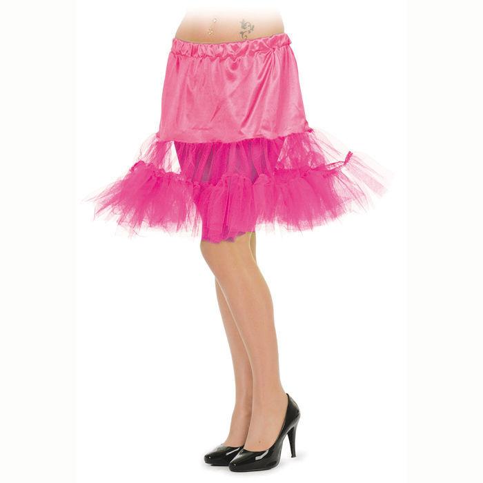 Petticoat, lang, neon pink, - Petti-Coat, Unterrock,  eBay